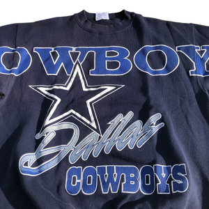 Vintage Dallas Cowboys Rare All over print crewneck sweatshirt