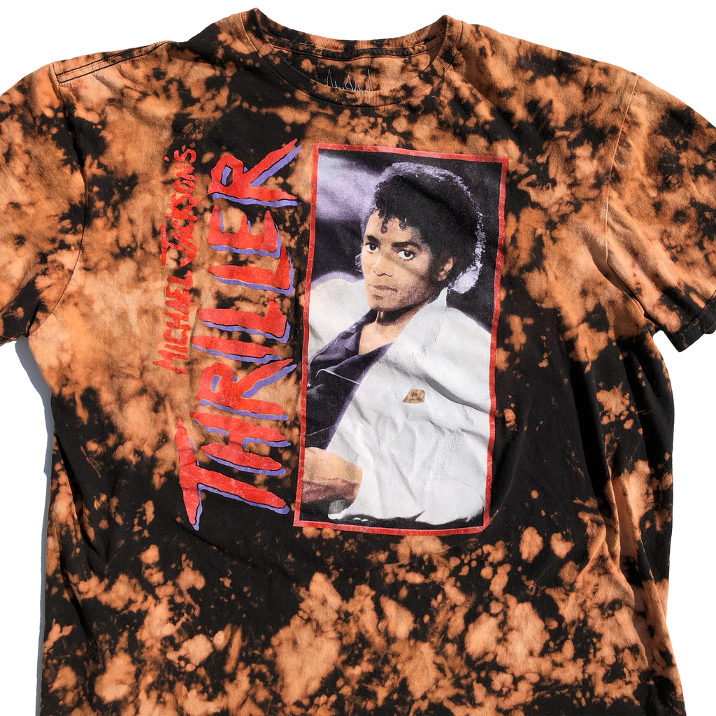 Michael Jackson Thriller Acid Wash Shirt