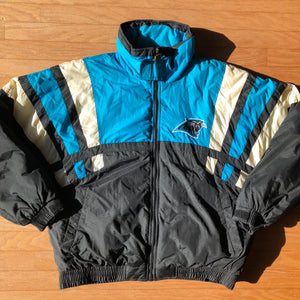 1995 Carolina Panthers Vintage Game Day Turbo Zone Jacket