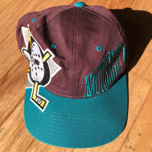 Anaheim Mighty Ducks Vintage Starter Snapback