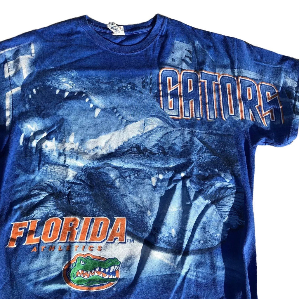 Florida Gators Vintage All Over Print Shirt F&B