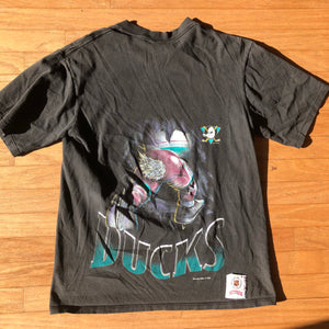 Anaheim Mighty Ducks Vintage Nutmeg Mills Front & Back Shirt