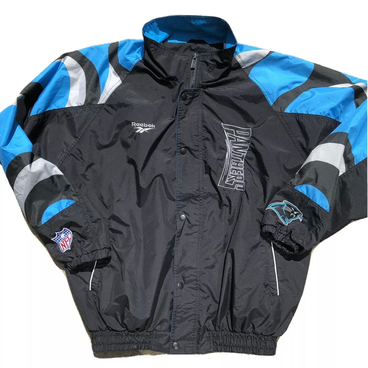 Vintage Reebok NFL Carolina Panthers jacket
