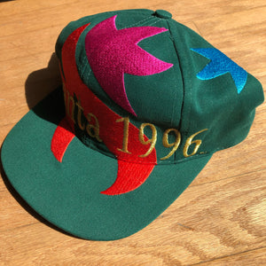 Green Atlanta cap