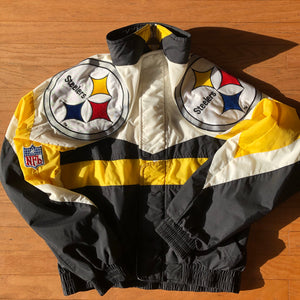 Big Logo Steeler jacket