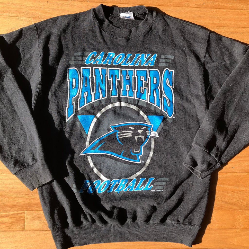 Black Carolina Panthers Sweatshirt