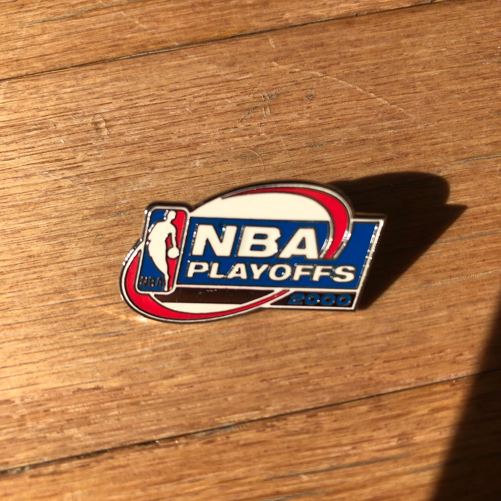 2000 NBA Playoffs Vintage Lapel Pin