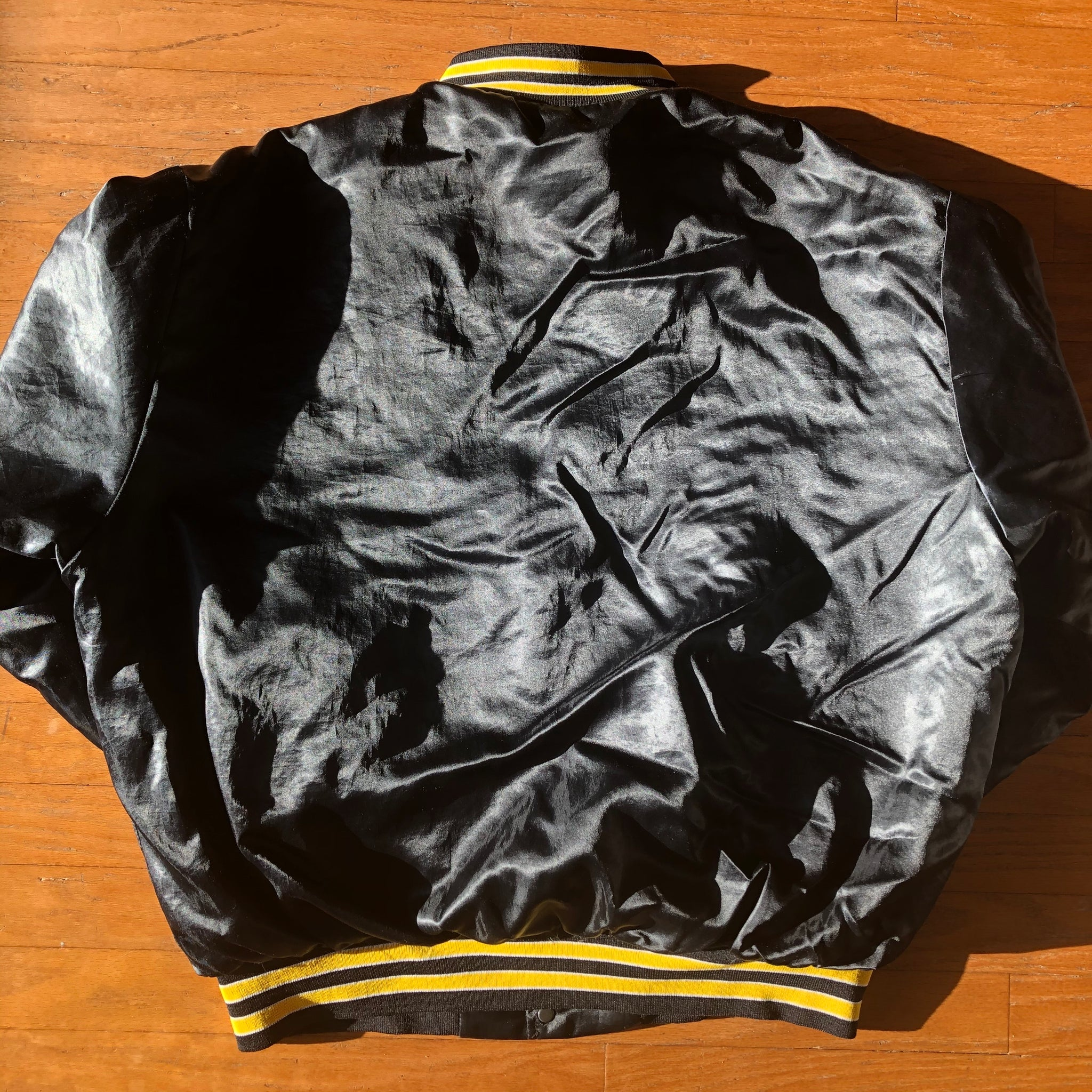 Pittsburgh Steelers Rare 1992 60 Seasons Vintage Swingster Satin Jacket!
