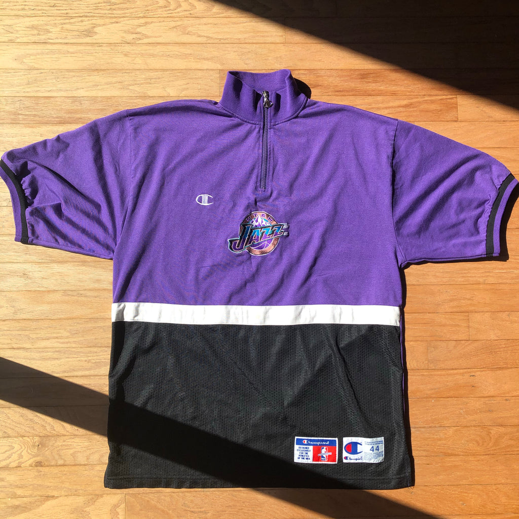 Utah Jazz Authentic Champion Warm Up Shooting Shirt