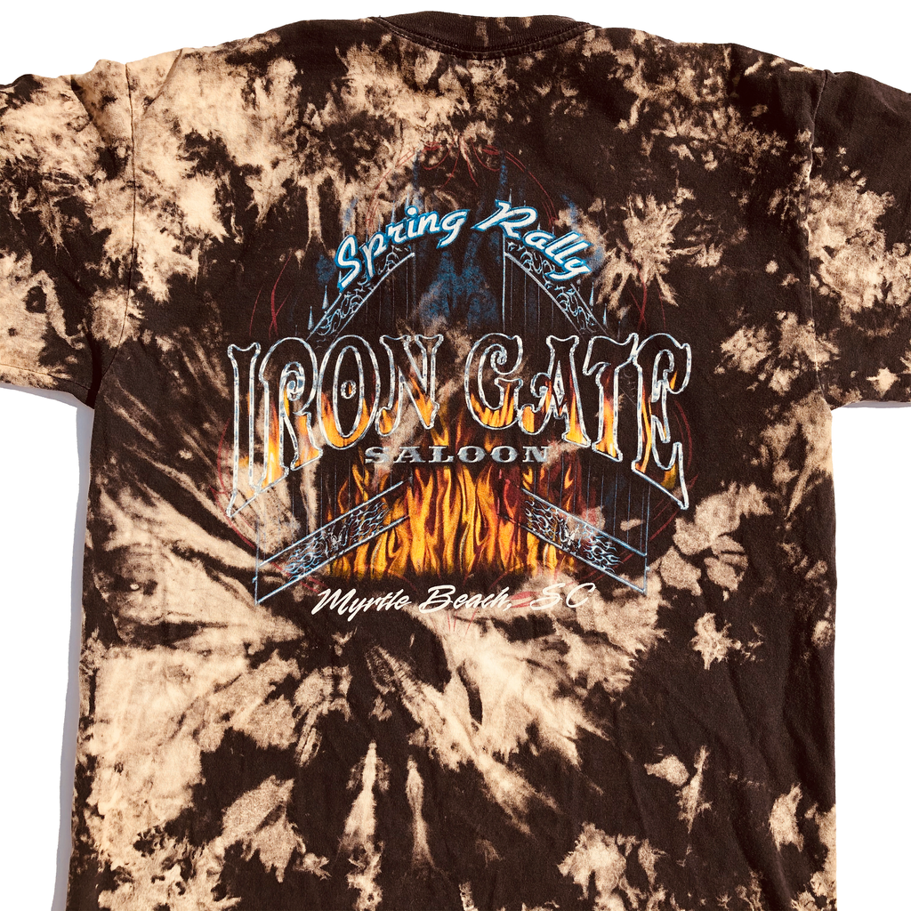 Iron Gate Saloon SC Spring Rally Acid Wash Shirt
