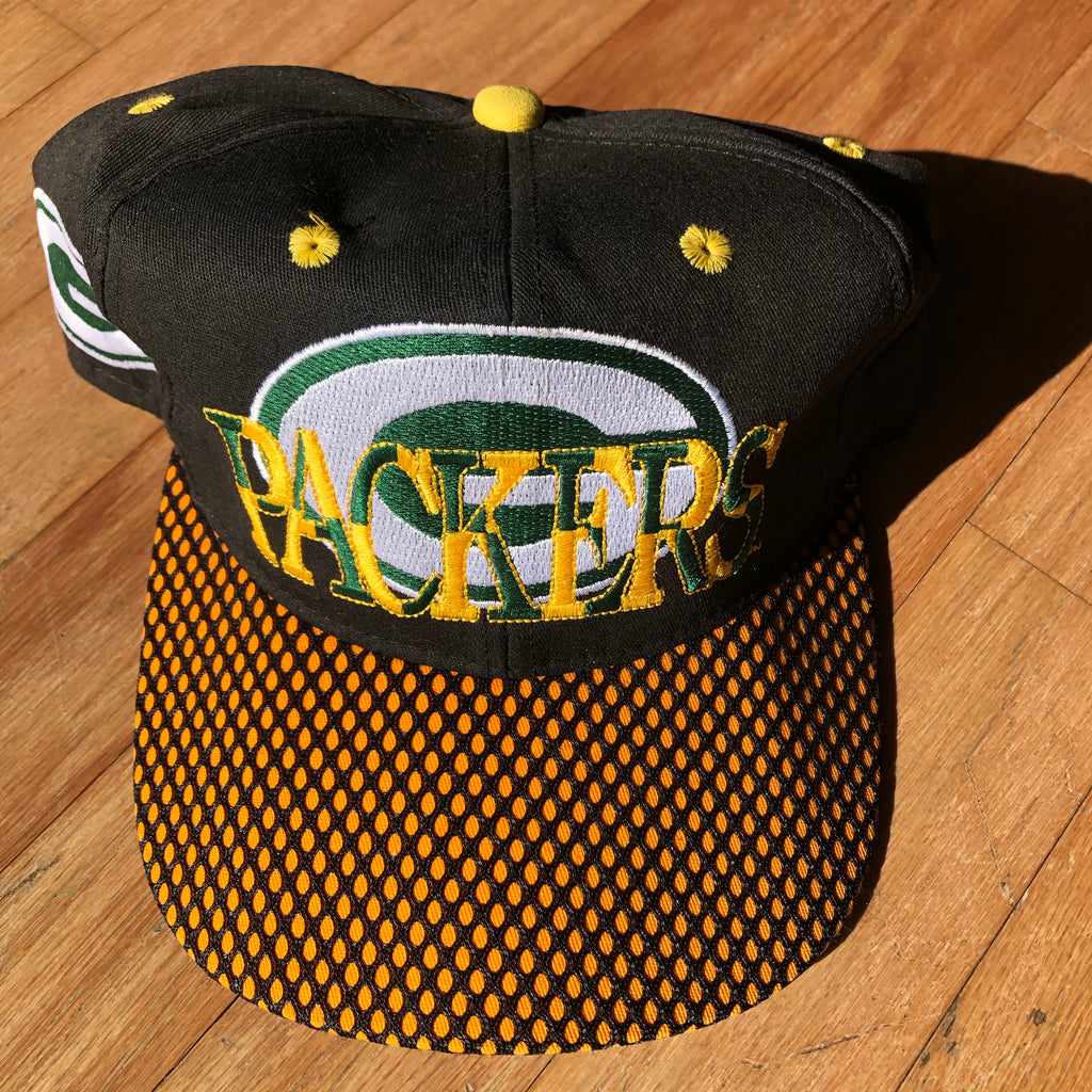 Vintage Green Bay Packers Snapback Hat
