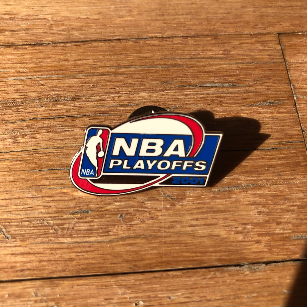 2001 NBA Playoffs Vintage Lapel Pin