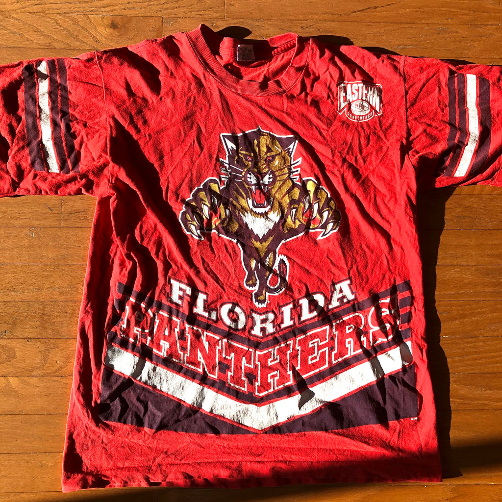 Florida Panthers NHL Vintage Salem Sportswear Front & Back Shirt