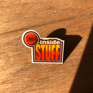 Inside Stuff Vintage 90's Lapel Pin