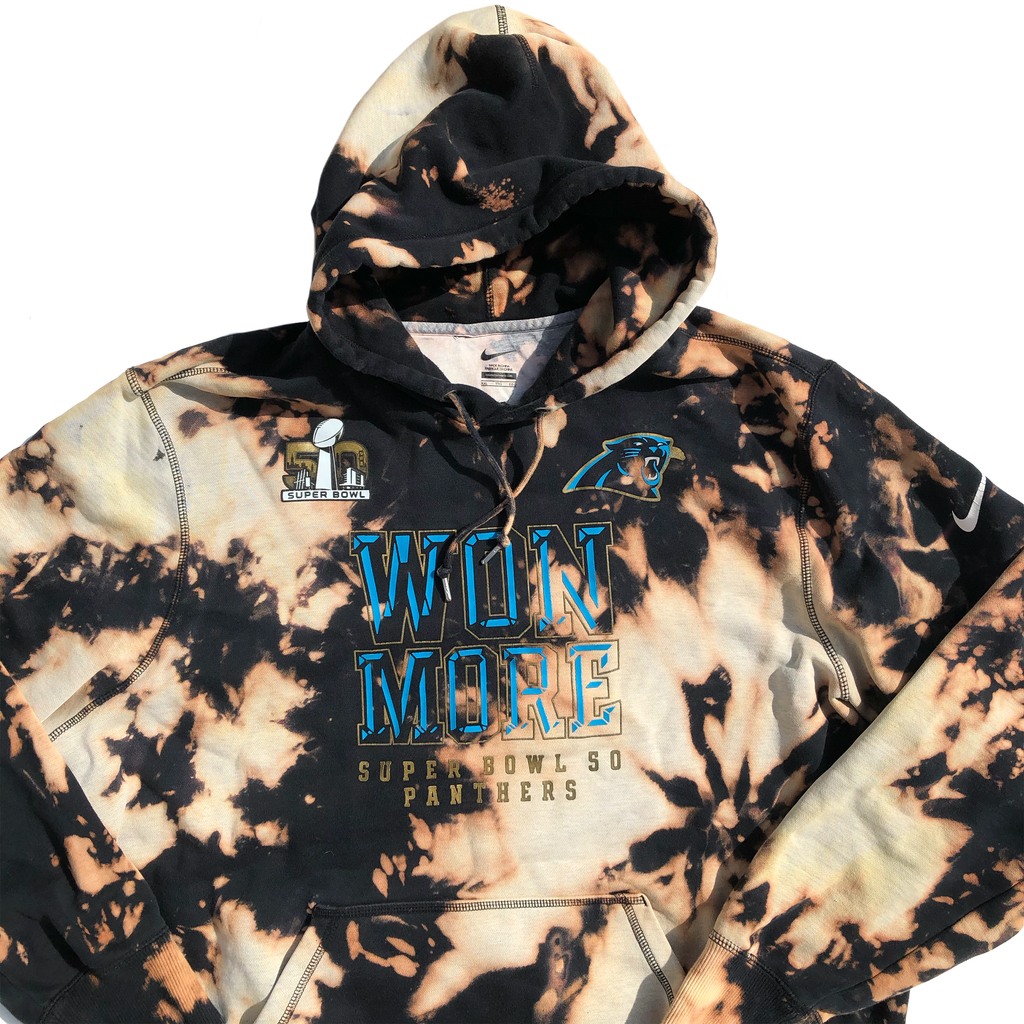 Carolina Panthers Won More Acid Wash Hoodie