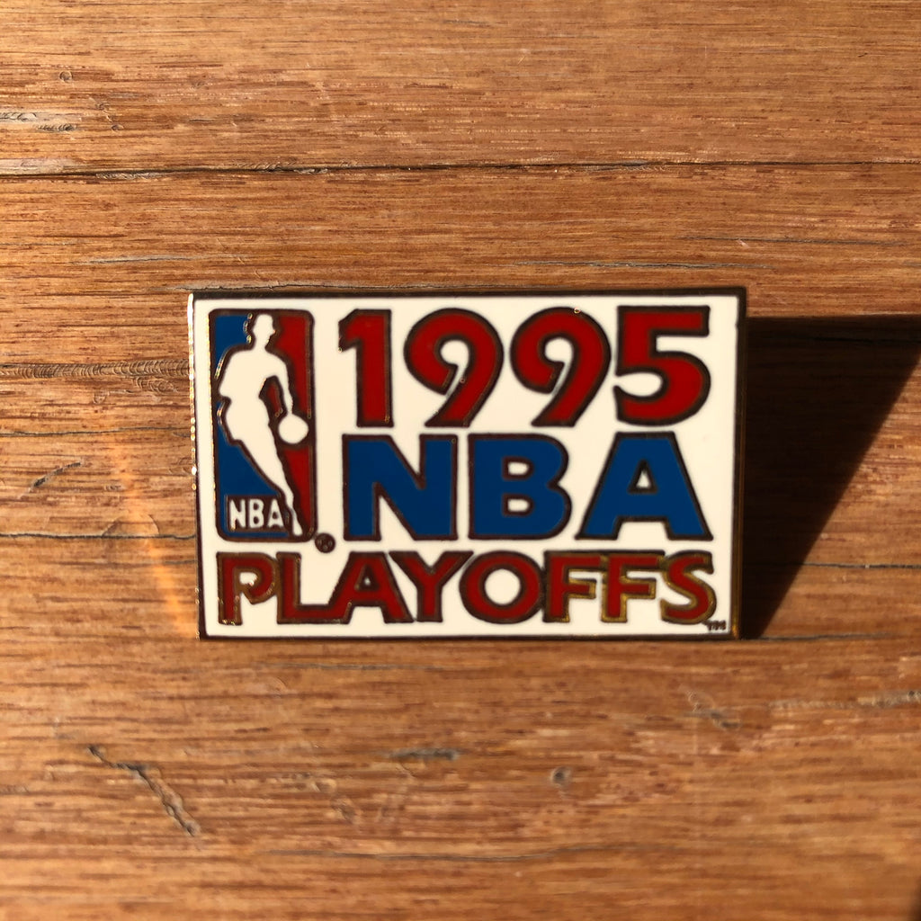 1995 Playoffs Vintage Lapel Pin