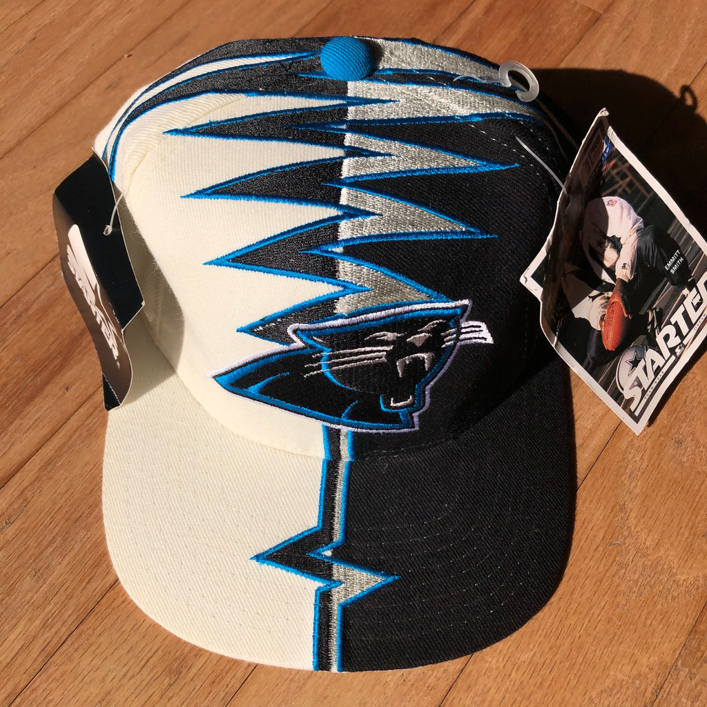 Carolina Panthers Deadstock Vintage Starter Shockwave Hat