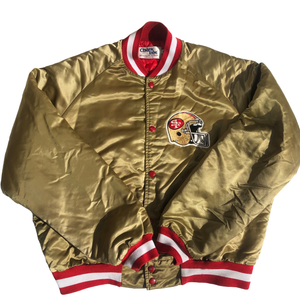 San Francisco 49ers Vintage Satin Jacket