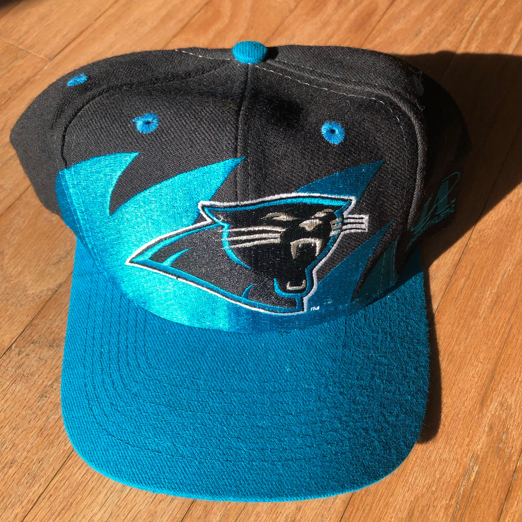 Carolina Panthers Rare Vintage Logo Athletic Sharktooth Snapback