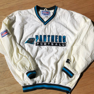 Carolina Panthers Rare Vintage Starter Pullover Windbreaker