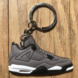 Jordan 4 IV Retro Cool Grey Keychain