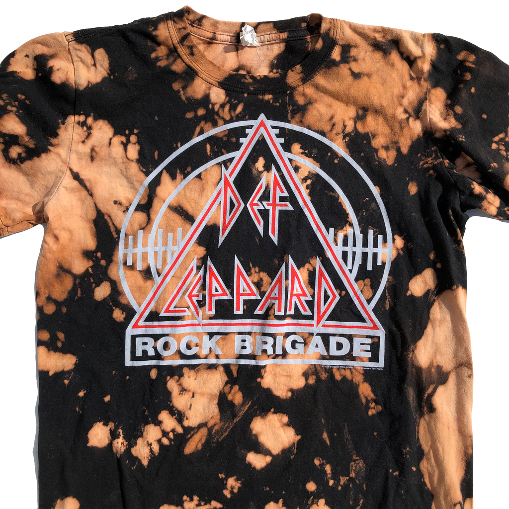 Led Zeppelin Rock Brigade Acid Wash Shirt Men's M