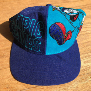 1996 Atlanta Olympics The Game Big Logo Izzy Olympic Games Snapback!