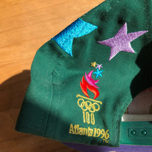 1996 Atlanta Olympics The Game Big Logo Snapback