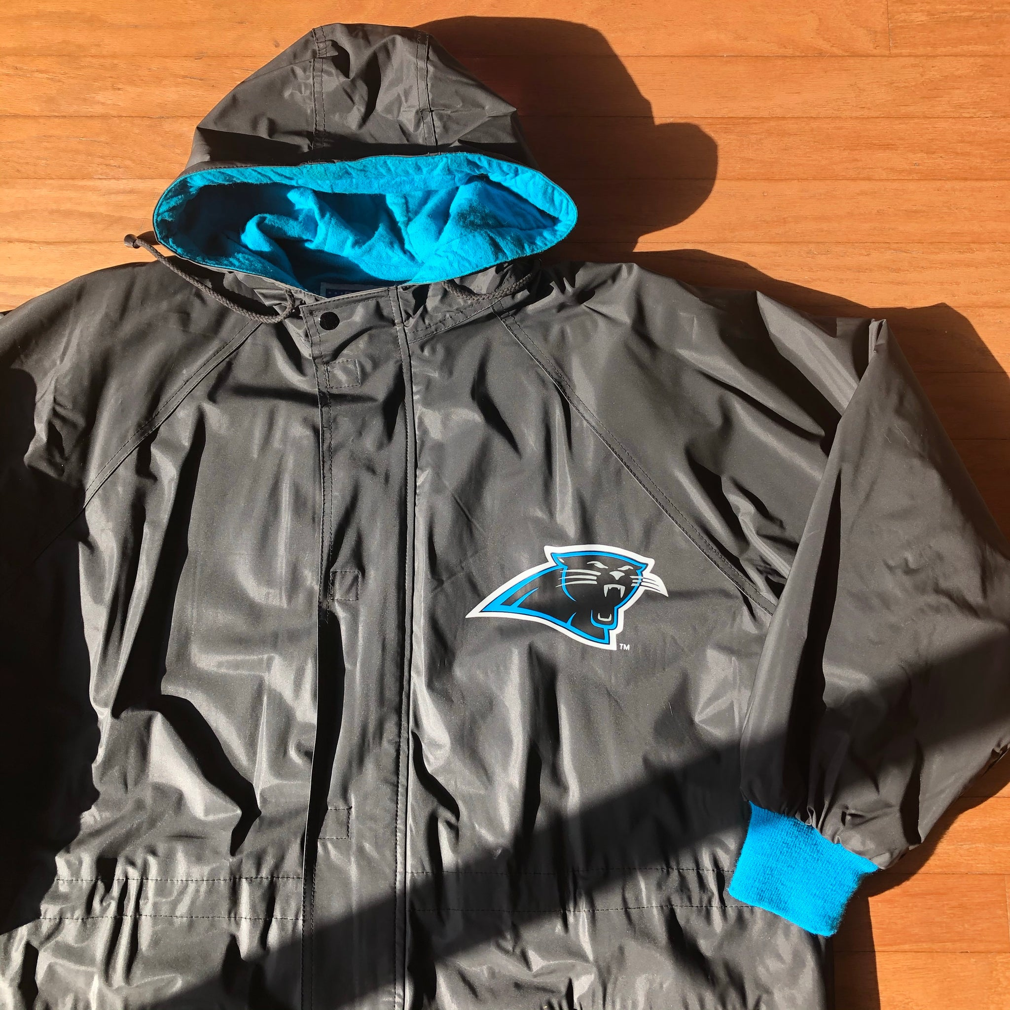 90s Carolina Panthers Jacket