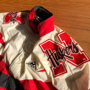 RARE Nebraska Cornhuskers Vintage Apex One Jacket Men's L