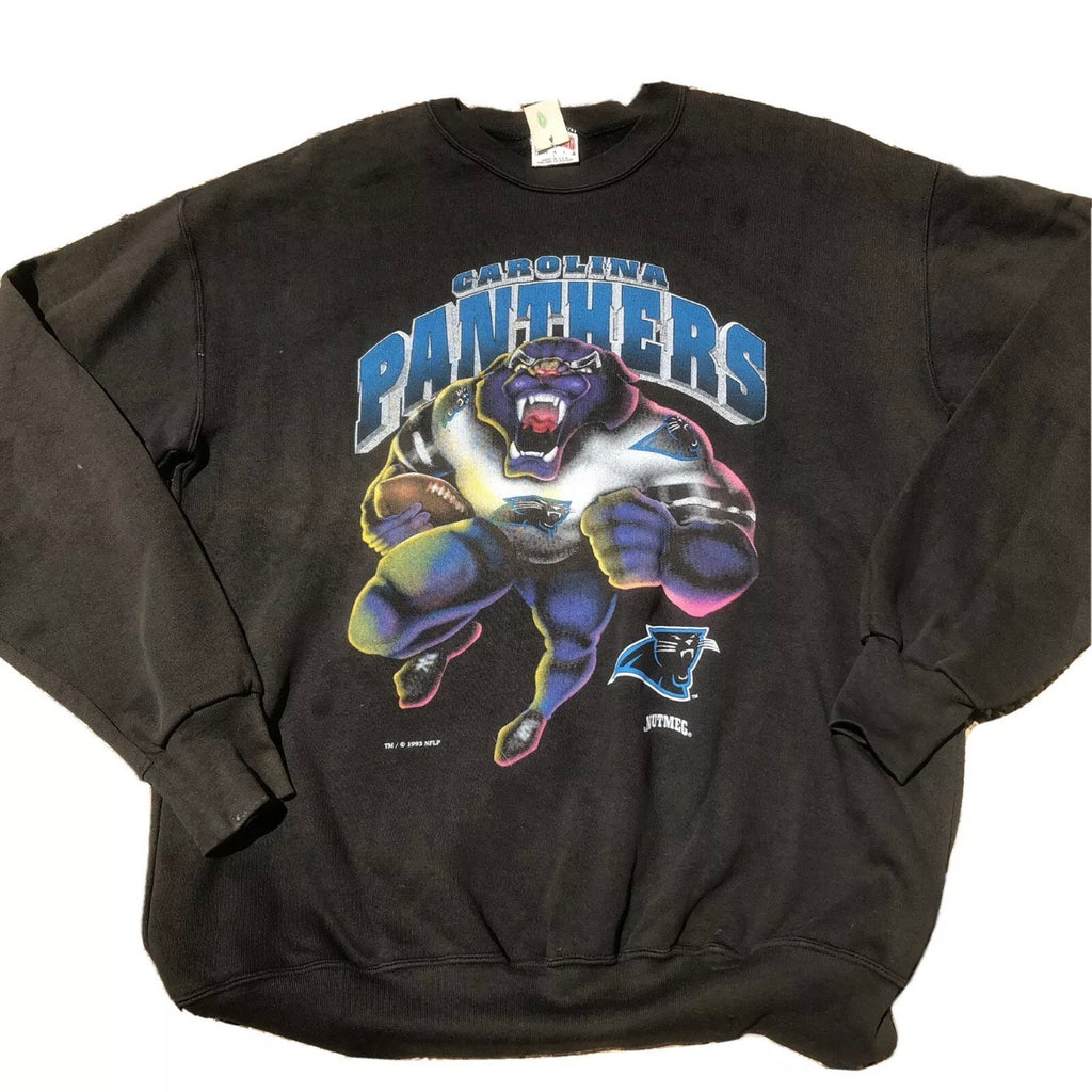 Carolina Panthers Vintage Nutmeg Mills Sweatshirt