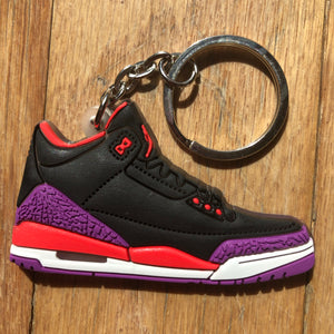 Jordan Crimson III Key Chain