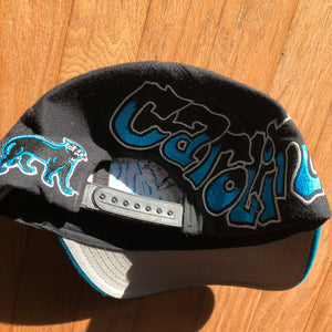 Carolina Panthers Vintage Drew Pearson Graffiti Snapback