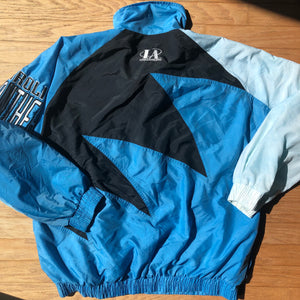 Carolina Panthers Vintage Logo Athletic Sharktooth Jacket