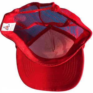 Red Otto Cap Firestone Trucker hat