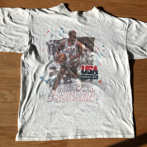 1992 USA Basketball Dream Team Michael Jordan Official Fan Sportswear RP? Shirt
