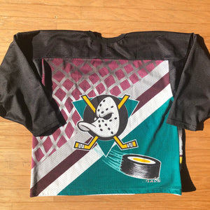 Anaheim Mighty Ducks Vintage CCM NHL Goalie Hockey Jersey