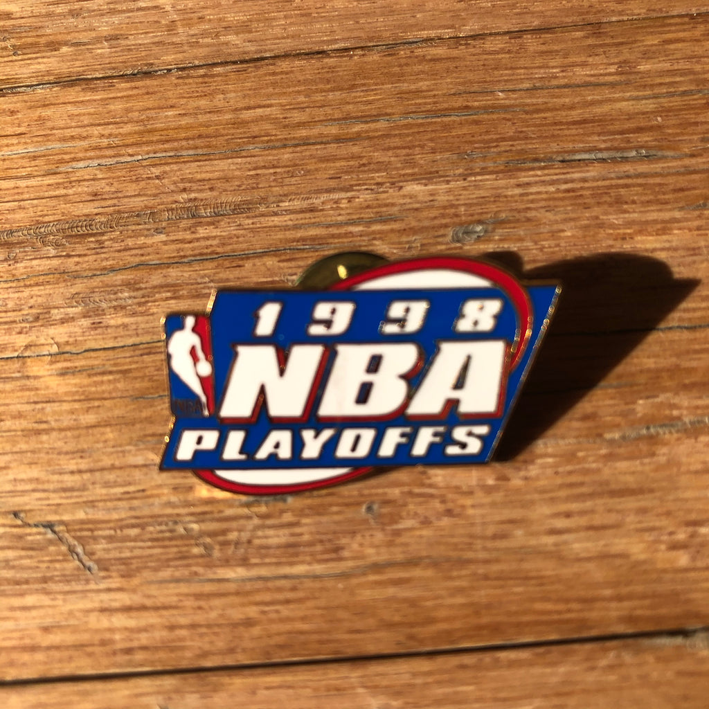 1998 NBA Playoffs Vintage Lapel Pin