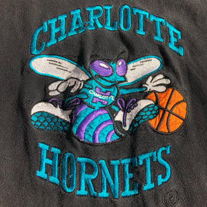 Charlotte Hornets Rare In the Paint Colorblocked Hooded Shirt