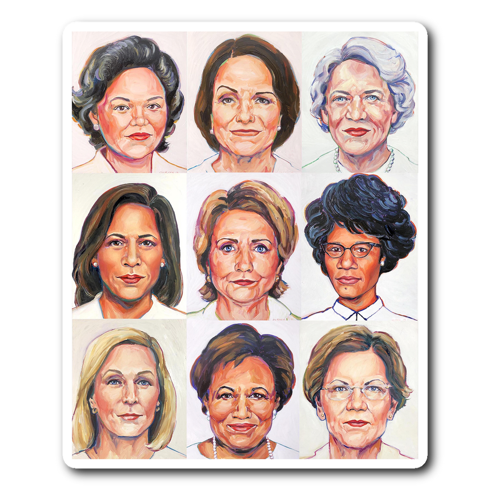 Sheroes Presidential Sticker