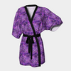 Amelia Robe - Flora & May. Available in a Silky Knit Robe or a Poly Chiffon Robe