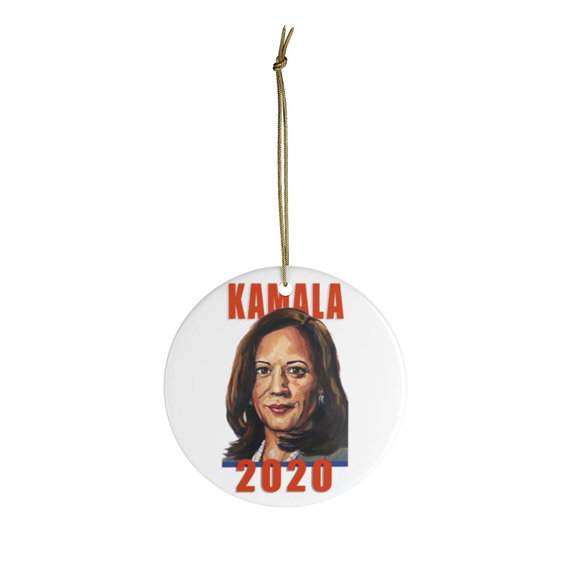 Kamala 2020 Ceramic Ornaments