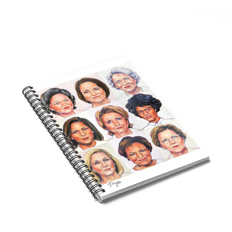 Sheroes Presidential Spiral Notebook