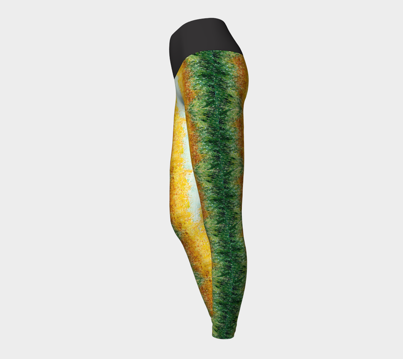 Goldenrod Yoga Leggings