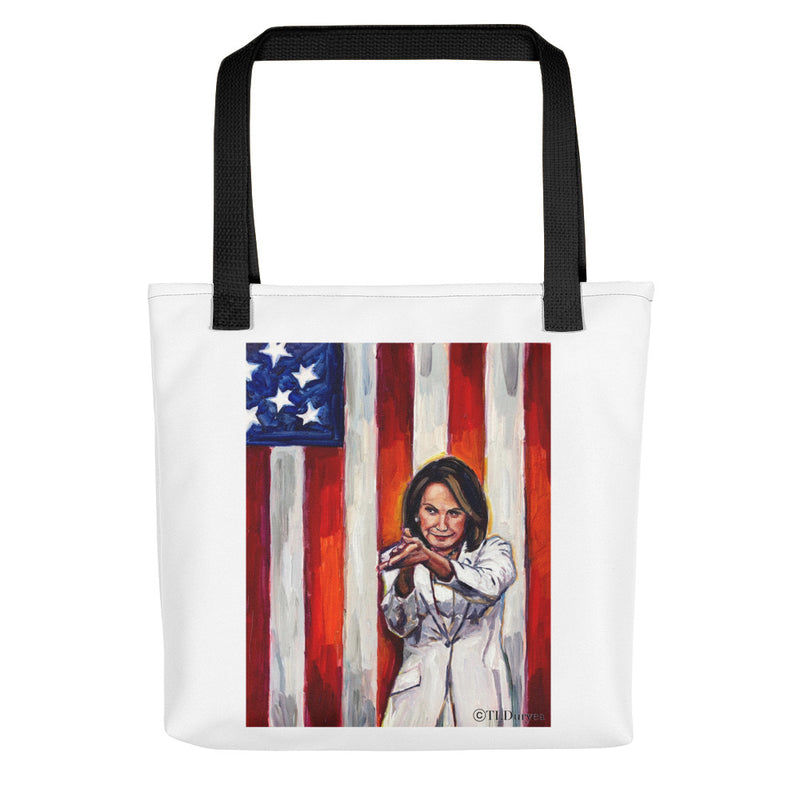 Nancy Pelosi Basic Tote Bag