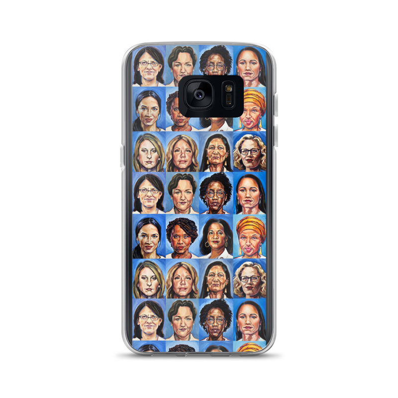 Sheroes Women of Congress Samsung Galaxy Case S7-S10+