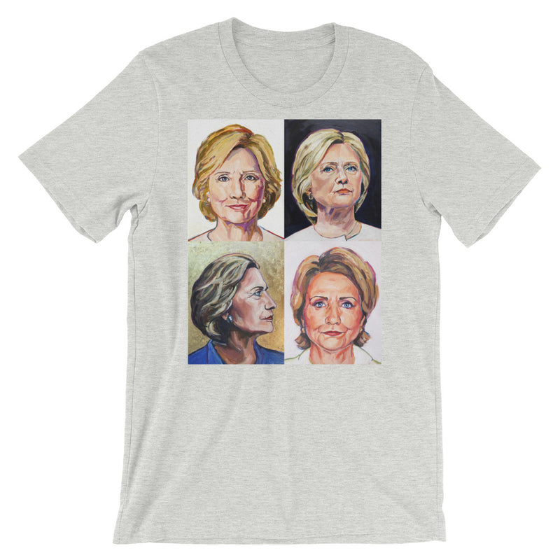 Women's Hillary Clinton Mini Grid T-Shirt