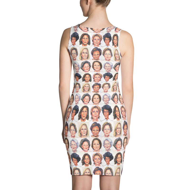 Sheroes Presidential Fitted Dress
