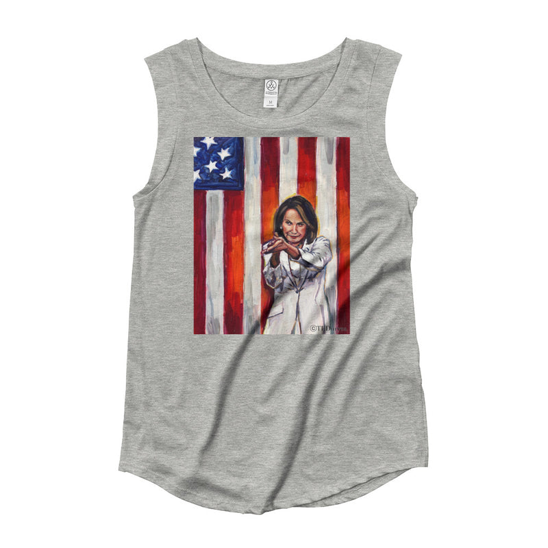 Women's Relaxed Fit Nancy Pelosi Tank Top