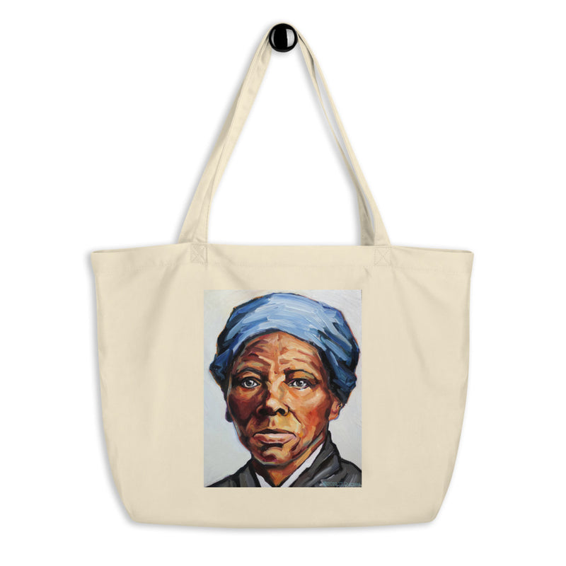 Harriet Tubman Organic Cotton Oversize Tote Bag
